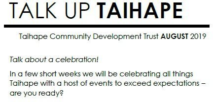 Talk Up Taihape August 2019