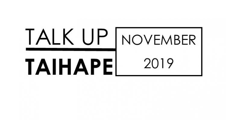 Talk Up Taihape November 2019