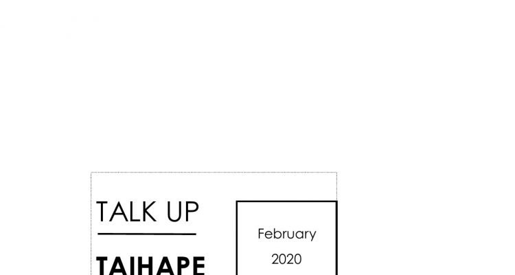 Talk Up Taihape February 2020