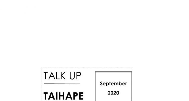 Talk Up Taihape Newsletter September 2020
