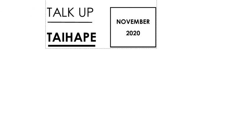 Talk Up Taihape Newsletter November 2020